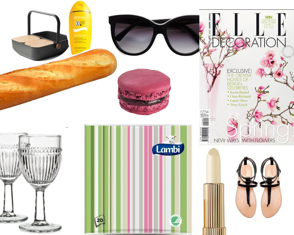 girly picnic kollaasi