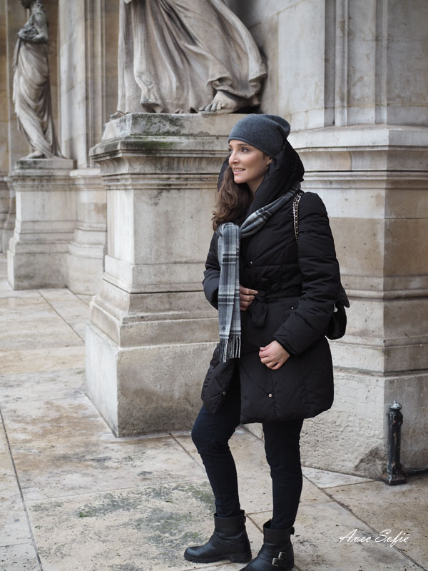 Paris winter ootd