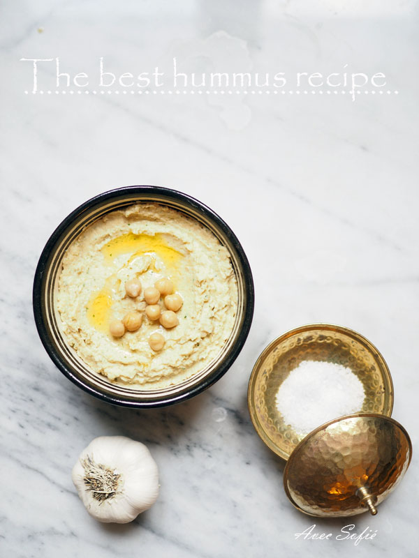 My favorite hummus recipe