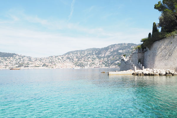 The hidden beaches of south of France